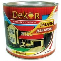 """Эмаль для крыш алкидная """"DEKOR"""""""