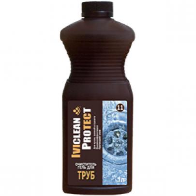 Очиститель гель для труб IVIclean proTECt 1л